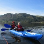 Views members canoeing at Galloway