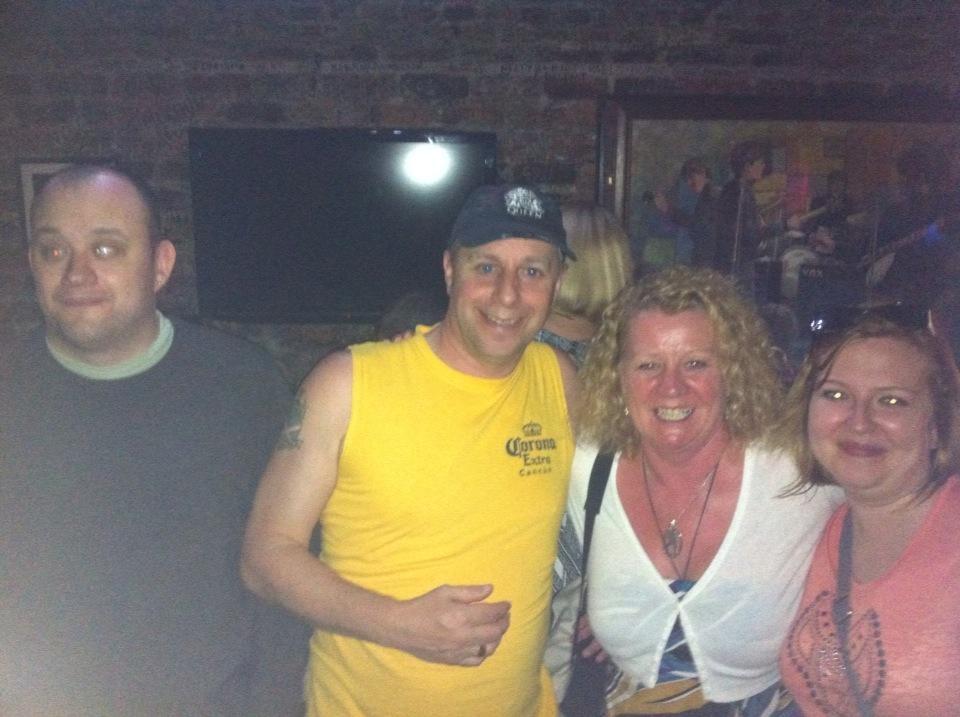 Photo of VIEWS members socialising