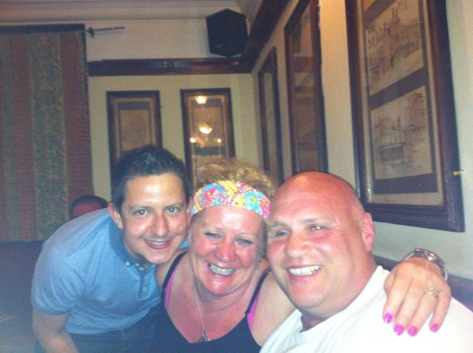 Photo of Dawn, Paul and Rob