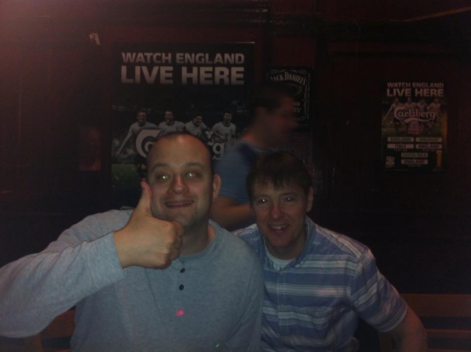 Photo of Johnathan and Mick